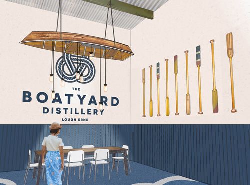 Boatyard Distillery Interior